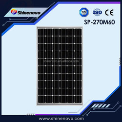 Good quality cheap 270w solar panel with full certificate