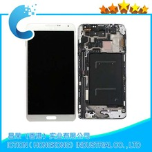 For Samsung For Galaxy Note Edge N9150 LCD Display with Touch Digitizer Assembly Black;100% New