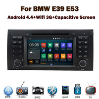 """7""""HD Capacitive Touch Screen android 4.4.2 car dvd for BMW E39 E53 E38 GPS Wifi 3G Bluetooth Radio RDS USB IPOD Steering wheel"""