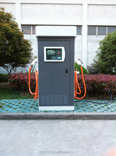 Level 2 EV Charging Station with Two Chargers Consum Electron