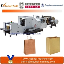 Automatic paper carry bag making machine price
