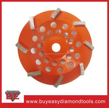Angle grinder machine using for concrete and granite abrasive grinding wheel