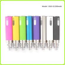 2014 New E cigarette vape pen Ego 2200mah For heavy smokers
