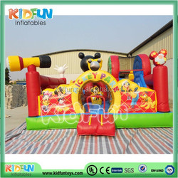 2015 Attractive Kids inflatable jumping castle