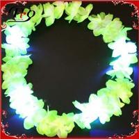 2014 new design led hawaiian flower lei garlands