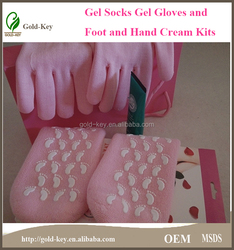 hand and foot whitening cream with hand and foot gel mask