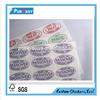 Custom high quality QC pass clear label