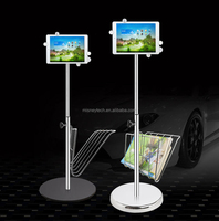 High quality stylish tablet security display floor stand
