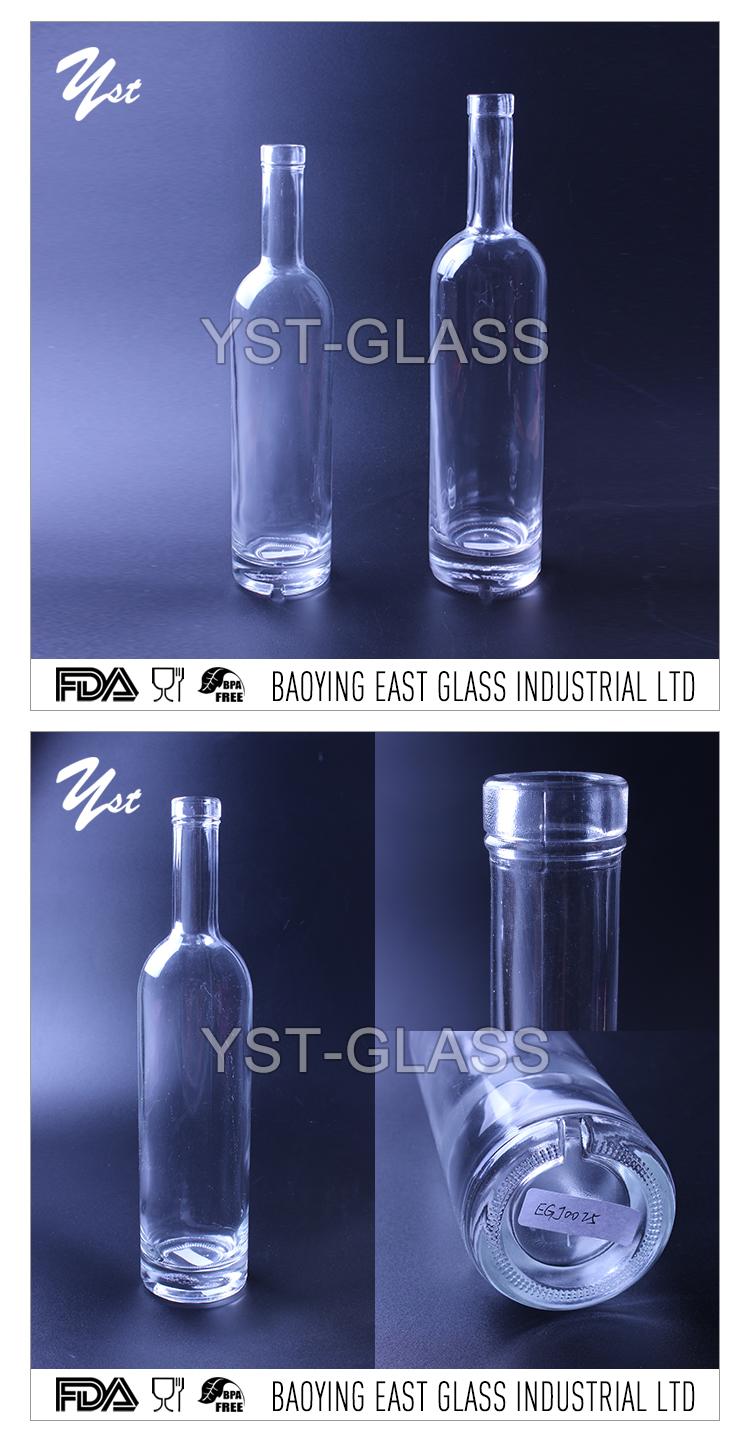 Glazen flessen uitkoken