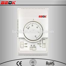 Competitivo precio barato simple 3 de velocidad CE eco eléctrica de zonificación controladores para fan coil