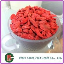 Dried goji berry packed 500pcs/50g 4x 5kg