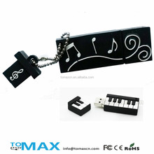Rubber electronic piano usb pen drive wholesale for reseller ebay amazon