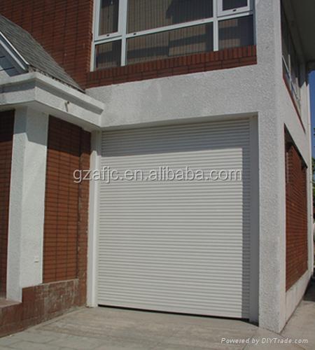 Metal roller shutter door roll up slat buy vertical