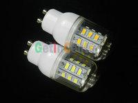 лампы led кукурузы smd 5730 gu10 220В, лампы smd 5730 24led 9w теплый белый/белый, 220v светодиодное освещение