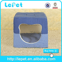 Low MOQ dog accessories durable luxury dog cat pet bed
