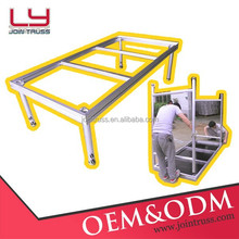 Wholesale High quality Aluminum fast removable stage portable modular stage for event