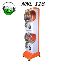 Arcade Coin Operated Useful Capsule Toy Automatic Vending Machine