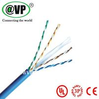 Network cable cat6 lan cable 23AWG 0.56mm copper pass Fluke text