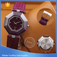 China OEM factory novelty fashion ladies watches with diamond