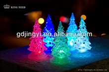 new product fashion artificial light string with LED mini christmas tree lighting decorations