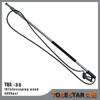 Handle Steel Car Wash Water Wand Pressure Washer Telescoping Rod