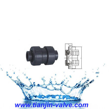 Standard and No Standard PVC Pipe Swing Check Valve for Pipe Connector