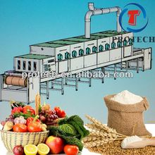 Full automatic microwave tunnel rose dehydrator