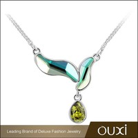 OUXI Summer fashionalbe greek accessory jewelry &ouxi jewelry made with Swarovski elements 10671
