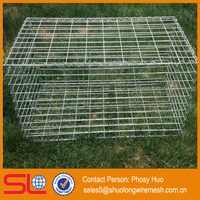 1000x300x300mm Galvanized Garden Gabion/ stone box for garden fence