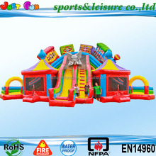 amazing inflatable fun city for sale,giant inflatable fun city for kids