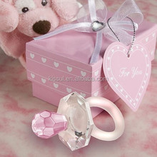 Adorable Baby birthday Gift of Crystal Pacifier Favor for baby