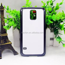 Hot selling Sublimation electroplated cell phone case for galaxy S5