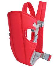 Cheap Safe Backpack Sling Wrap Rider Infant Comfort Carrier Blue/Red Front Baby Carrier