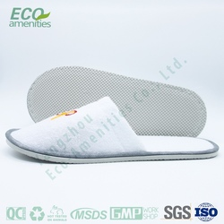 4 Stars Natural Extended additive mens nude indoor slipper is hotel slipper