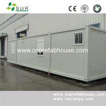 Prefabricated modern 20ft container house/low cost prefab container house / folding container house