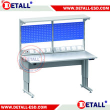new design electric control height adjustable trestle table for European Market