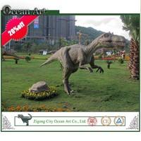 Hand made simulation dinosaur replica