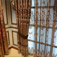 High Quality Popular Silk Indian Style Cotton Satin Curtain