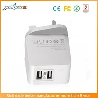 usb wall socket uk charger,cell phone accessory mobile phone UK wall charger 3.1A
