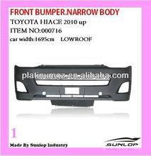 #000716 2010-2013 car bumper narrow body/low roof Toyota hiace front bumper for hiace van