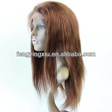 cheap price top quality 100% Brazilian virgin human hair full lace wig