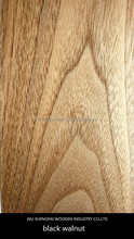 top quality natural Black walnut wood face veneer for floor,door,wall thin plywood skin sheets