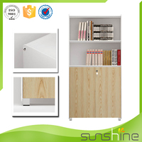 2015 Guangzhou Sunshine Cheap Wood Office File Storage Cabinets For Small Office