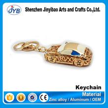 Custom size car keyring 3d toy car keychain wholesale