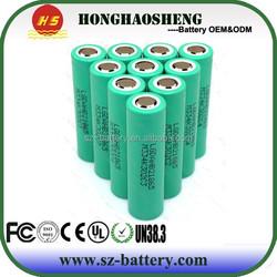 High drain battery cell 3.7v 1500mah Lghg2 lithium battery cell