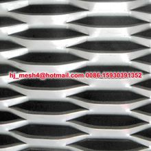 high quality aluminum hexagonal expanded metal mesh