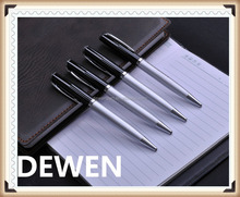 business style metal twist pen,senior metal twist ball pen,stainless steel metal ball pen