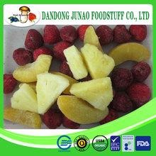 Export China organic IQF fruit frozen 3-blend frozen berry 4-blend berry frozen mixed berry