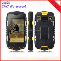 Original Jeep Z6 Rugged IP68 Waterproof Mobile Phone