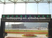 high brightness and stable peroformance p10 led display screen